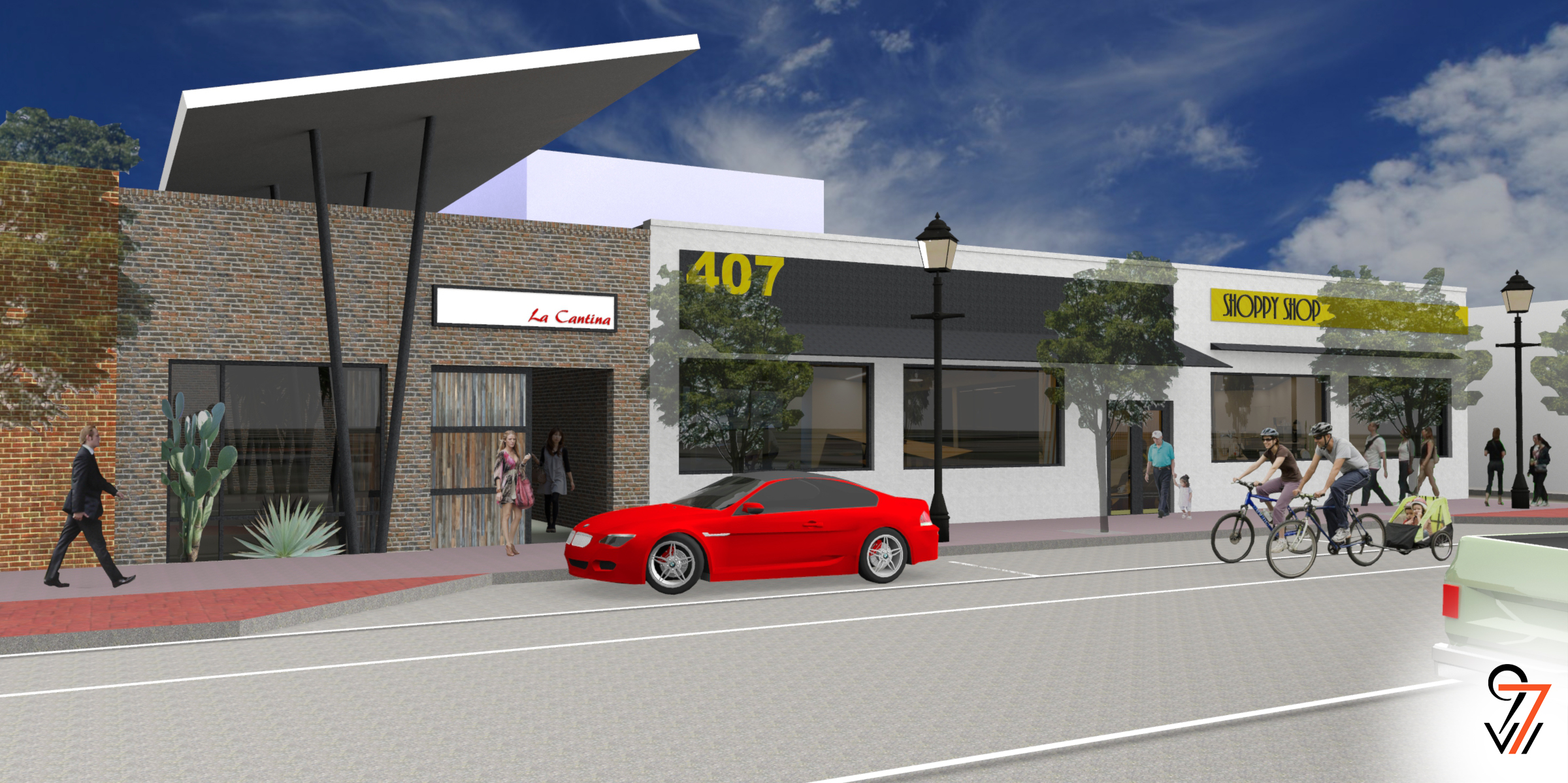 411 South Main Render
